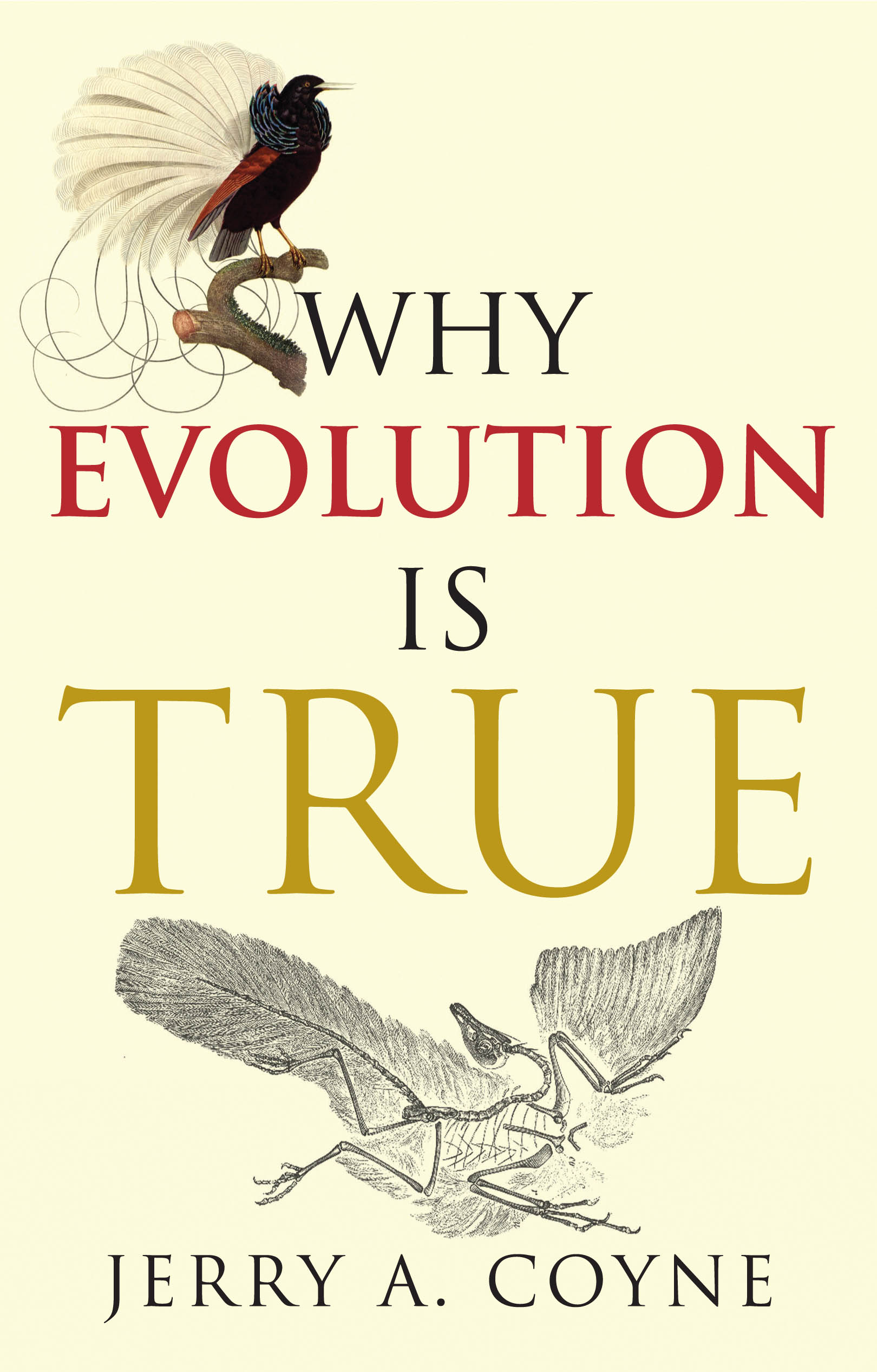 why evolution is true A fact is a hypothesis that is so firmly supported by evidence that we assume it is true why discussing evolution in schools can occasionally be.