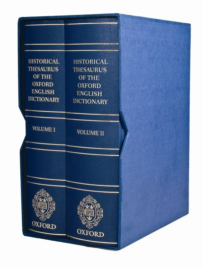 The Historical Thesaurus of the Oxford English Dictionary