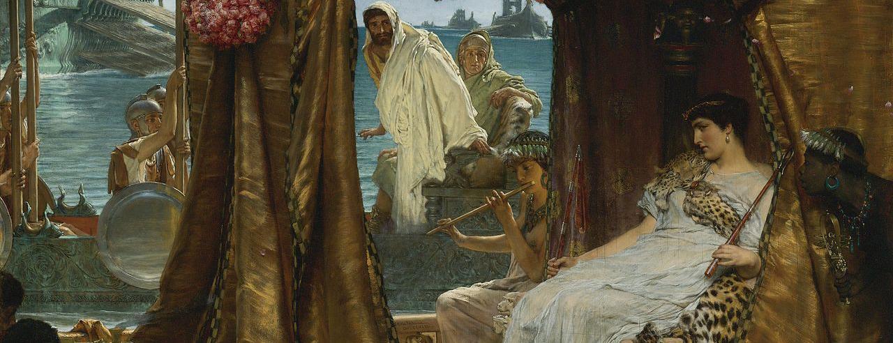 1280px-Sir_Lawrence_Alma-Tadema_-_The_Meeting_of_Antony_and_Cleopatra