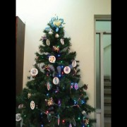Christmas tree in our Mexico office