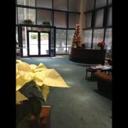 The Cary, NC office lobby