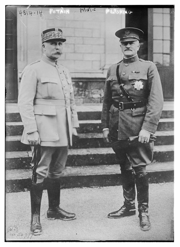 Petain, Pershing, World War I