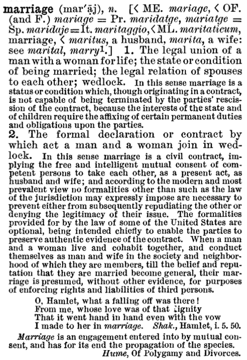 what is the definition of terms in early marriage The research glossary defines terms used in  and/or providers of early care and education and  all the people married in the same year constitute a marriage.