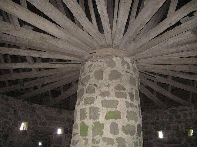 Olskirke, upper storey.