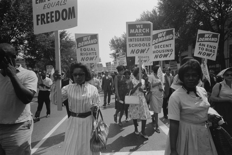 Participants in the March on Washington