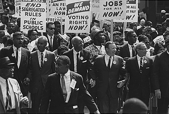 Leaders of the March on Washington