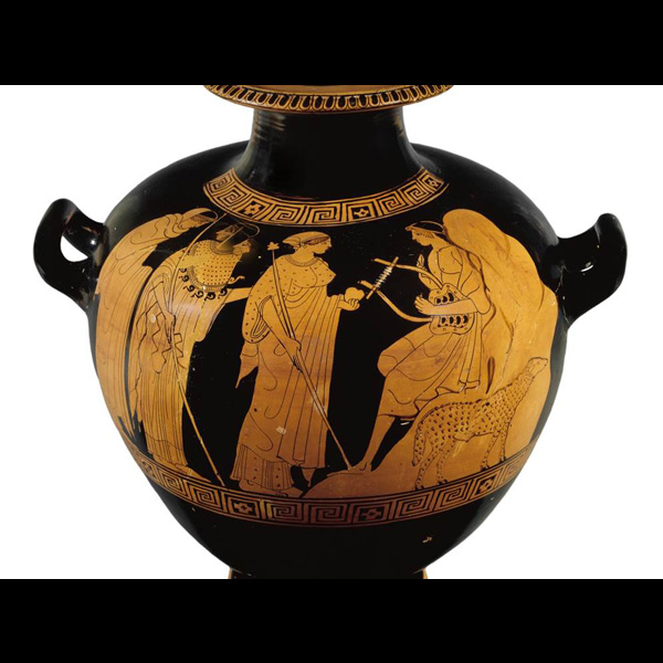Tortoise Shell Lyre The Judgment of Paris