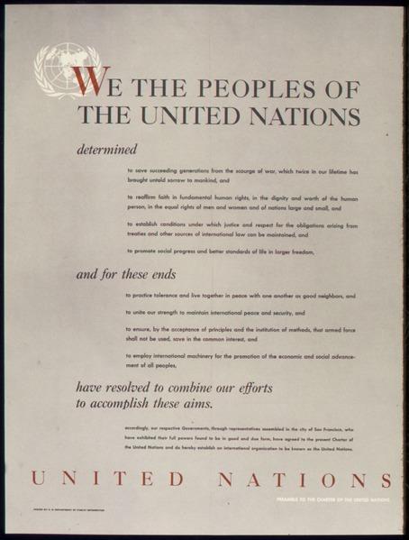 UN Charter preamble