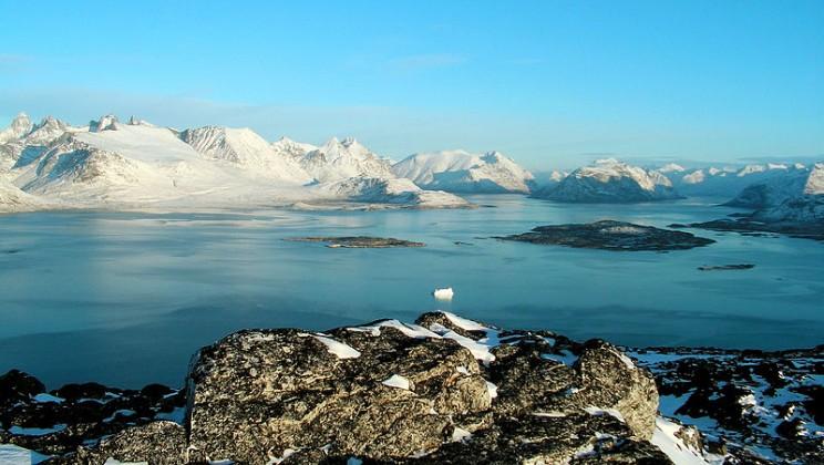Scenery from Ravnefjeldet, Nanortalik (Southernmost part of Greenland)