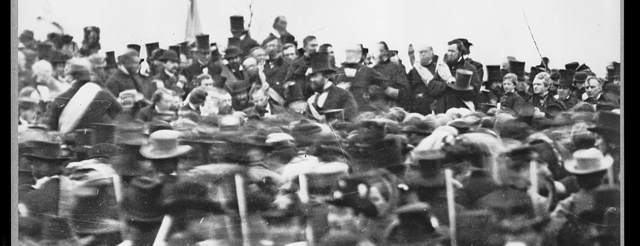 rhetoric in gettysburg address This a practice quiz you will be given a grade, however you can retake the quiz over again for five times until you get a better grade you are encouraged to d.