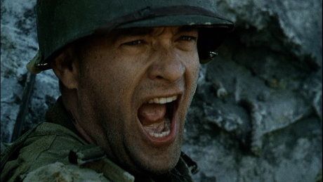 Tom Hanks as Captain Miller in 'Saving Private Ryan' (c. DreamWorks 1998)