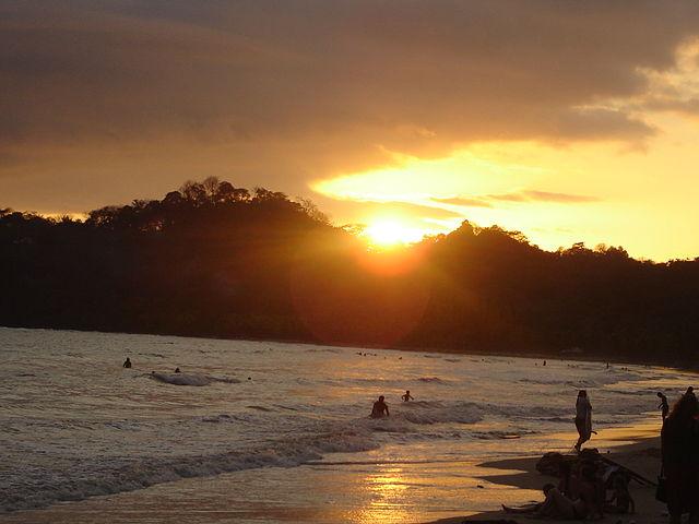 Playa Samara, Costa Rica.