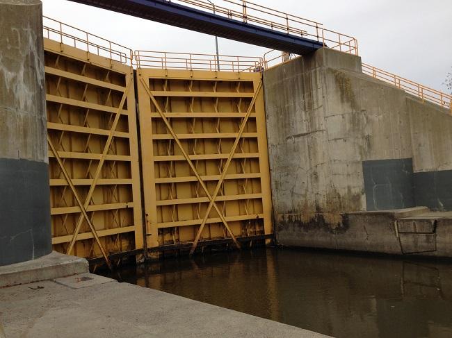 Canal Lock Doors 2