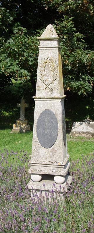 Ian Fleming's Grave stone