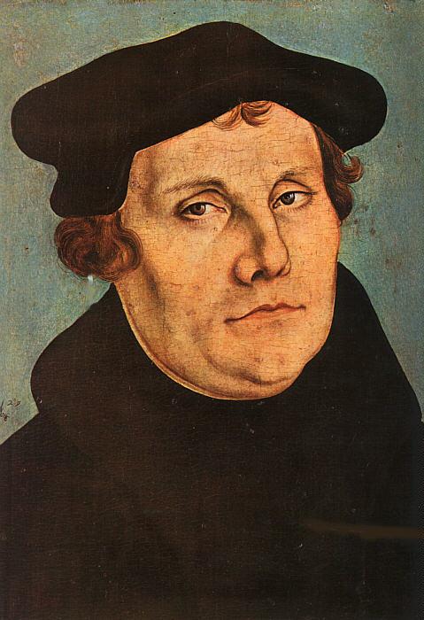 Martin Luther by Lucas Cranach der Ältere