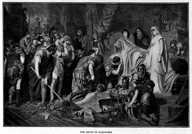 The_Death_of_Alexander_the_Great_after_the_painting_by_Karl_von_Piloty_(1886)