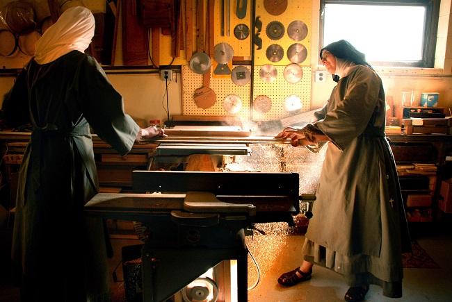 woodshop nuns abbie reese