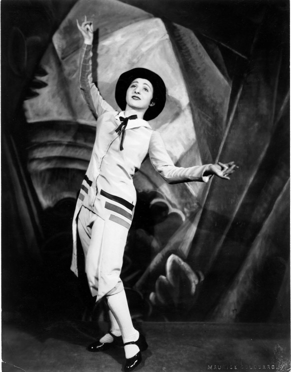 Belle Didjah in Bar Mitzvah (1929). Photograph: Maurice Goldberg. Courtesy of the Jerome Robbins Dance Division, the New York Public Library for the Performing Arts, Astor, Lenox and Tilden Foundations and the Maurice Goldberg Estate.