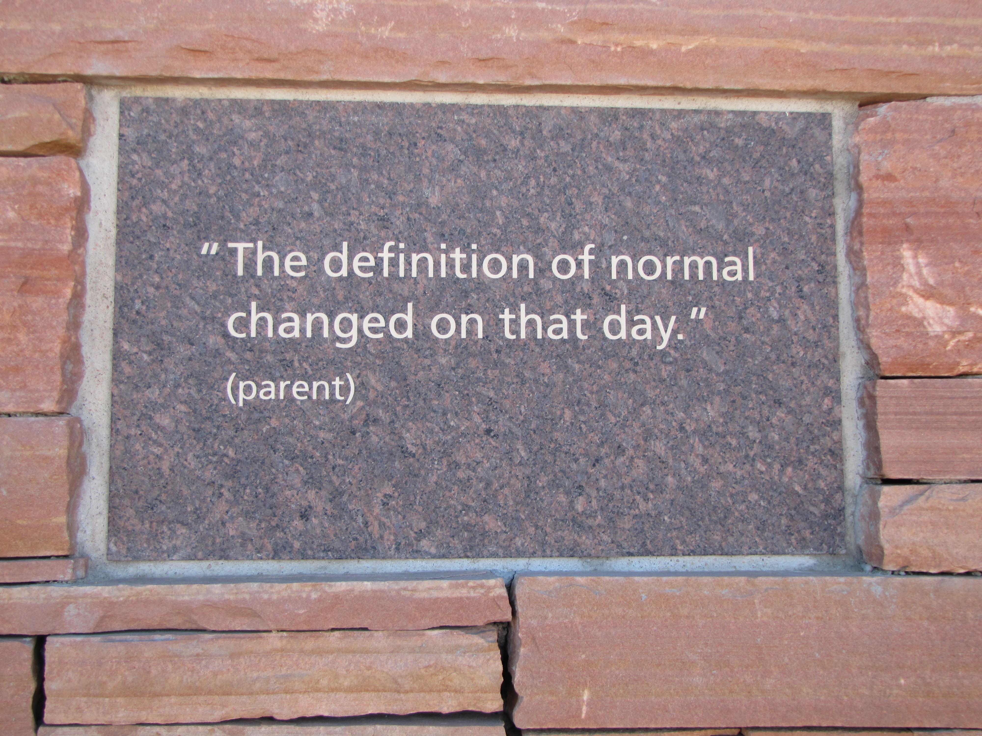 Memorial quote NORMAL