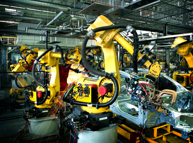welding robots car manufacturing