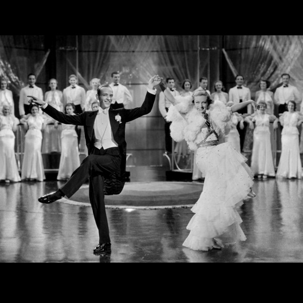 Fred Astaire and Joan Crawford in Dancing Lady