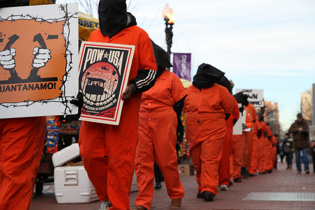Witness Against Torture: Detainees, Forward. Photo by Justin Norman. CC BY-NC-SA 2.0 via shriekingtree Flickr.