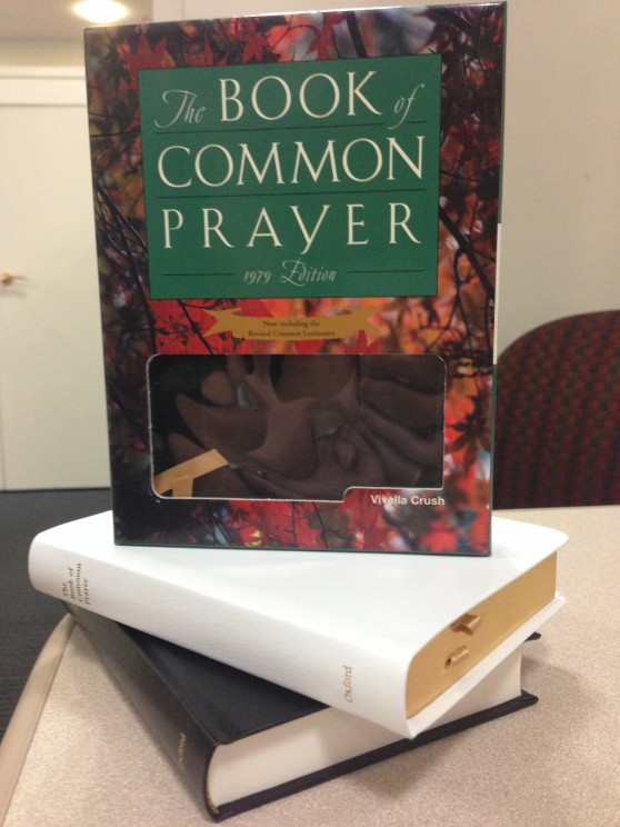 An image of the Book of Common Prayer