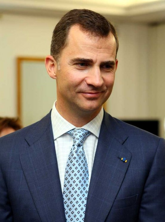 Felipe VI, the new king of Spain.