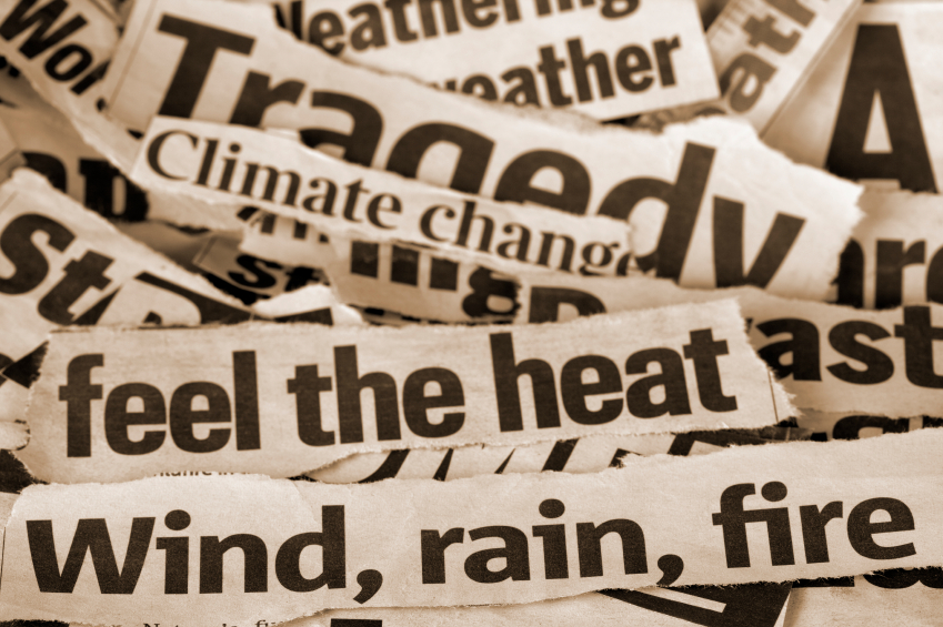 climate change media headlines