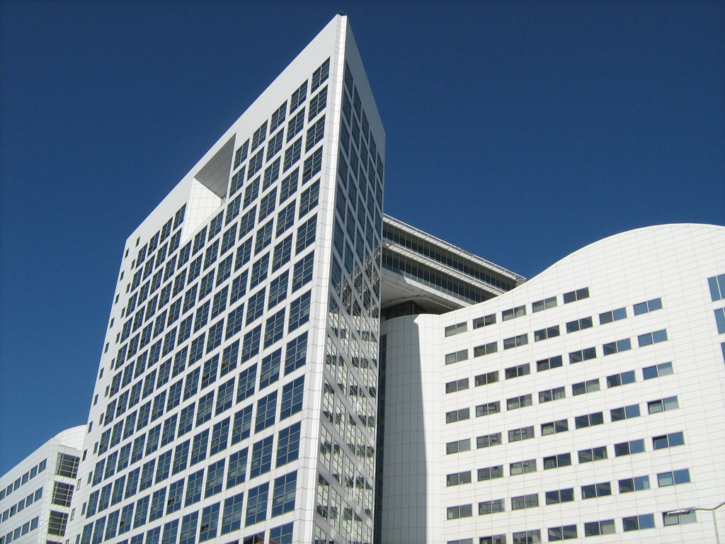 International Criminal Court (ICC) Haagse Arc. Photo by ekenitr. CC BY-NC 2.0 via 46774986@N02 Flickr.