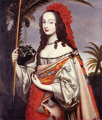 Sophia of Hanover by her sister, Louise Hollandine of the Palatinate, c. 1644. Public Domain via Wikimedia Commons.