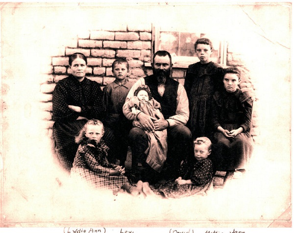 Photo of David and Lydia Ann Brinkerhoff Family