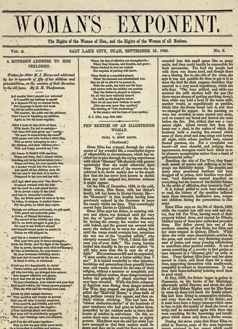 Copy of Woman's Exponent