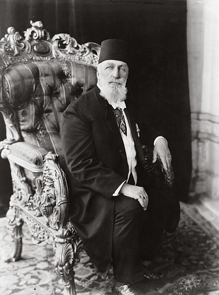 Caliph Abdulmecid II, the last Caliph before Abu Bakr al-Baghdadi.