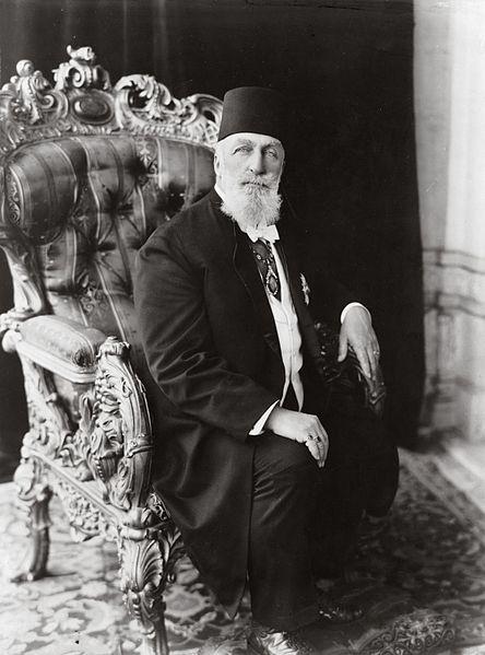 Caliph Abdulmecid II, the last Caliph before Abu Bakr al-Baghdadi.