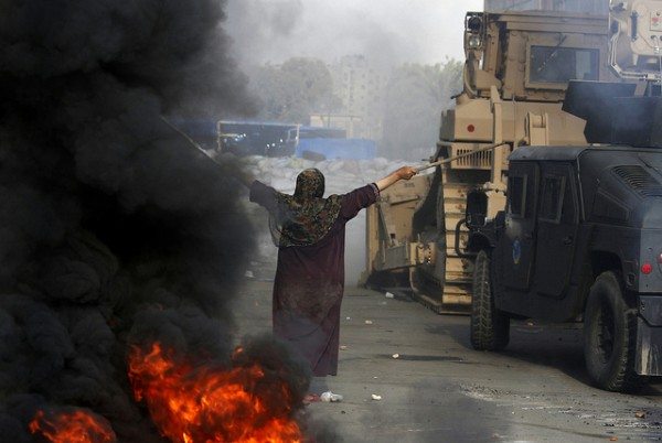 Photo of unrest in Egypt