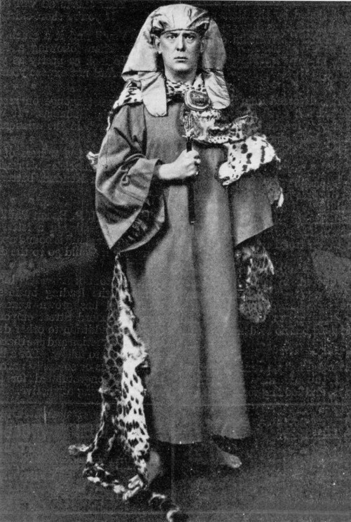 Photo of Aleister Crowley