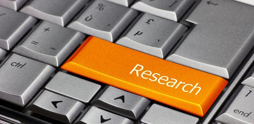 Computer Key orange - Research