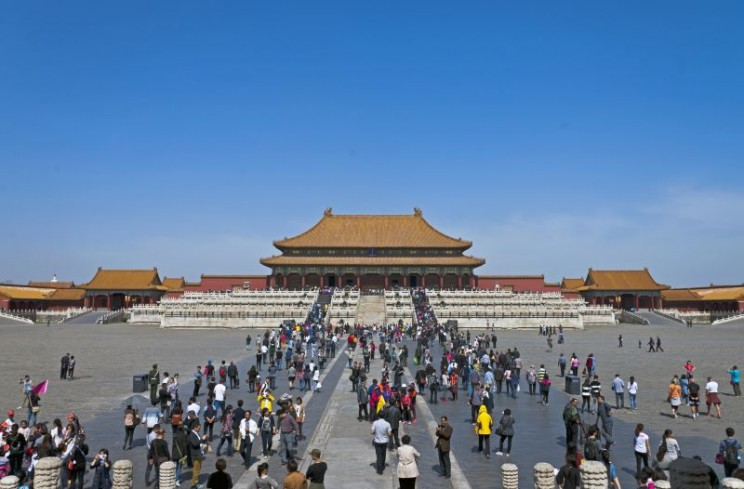 Hall of Supreme Harmony, Beijing.