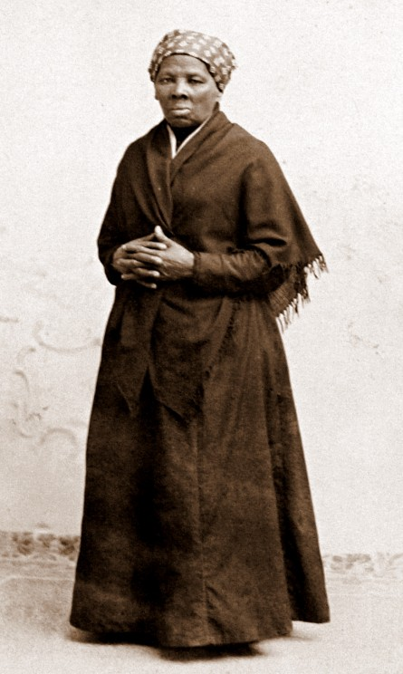 Harriet Tubman by H. Seymour Squyer, 1848 - 18 Dec 1905 (National Portrait Gallery). Public domain via Wikimedia Commons.
