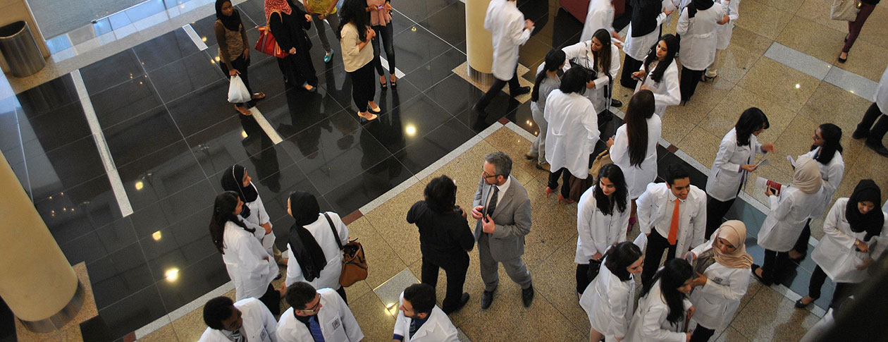 RCSI_Bahrain_White_coat_ceremony