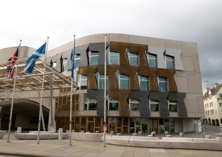 Scottish Parliament Building. © andy2673 via iStock.