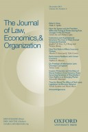 14657341 Journal of Law, Economics, and Organization
