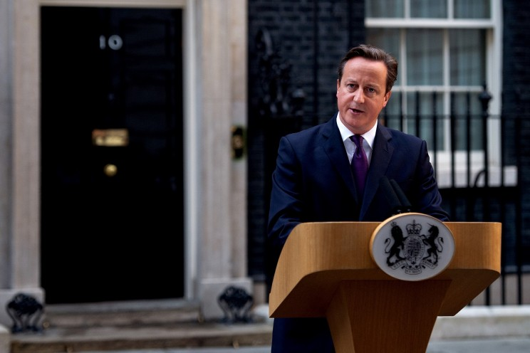 Prime Minister David Cameron talks about the future of the United Kingdom following the Scottish Referendum result. Photographer: Arron Hoare. Photo: Crown copyright via Number 10 Flickr.