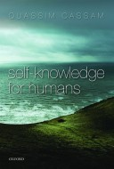 Cassam - Self-knowledge for Humans