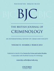 The British Journal of Criminology : An International Review of Crime ...