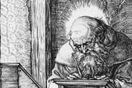 Saint Jerome in his Study by Albrecht Dürer via Wikimedia Commons [Public Domain]