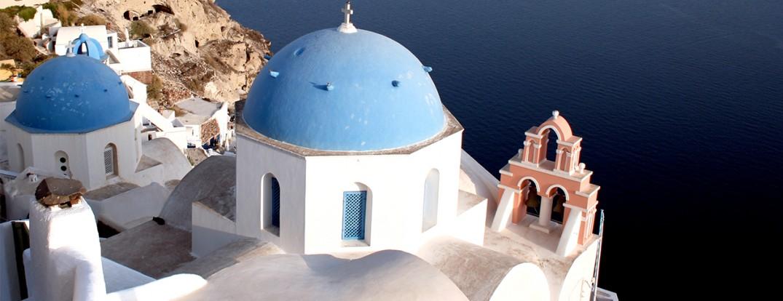 Oia, Greece. Photo by Jon Rawlinson. CC BY 2.0 via Flickr.