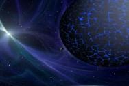 Planet Space Universe Blue Background Light by spielecentercom0, CC0 1.0 via Pixabay
