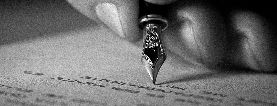pen writing trusts